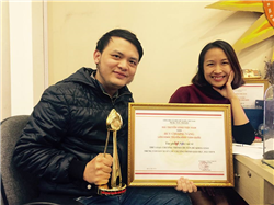 Văn vui vẻ - Đạt huy chương vàng Liên hoan truyền hình toàn quốc lần thứ 37 năm 2017