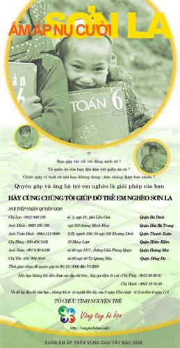 Poster Ấm áp nụ cười Sơn La